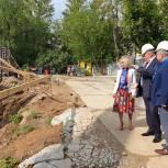 Партийцы королёвской «Единой России» проверили ход строительства новых детских садов
