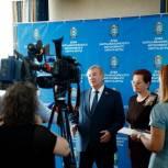 Борис Хохряков и Оксана Козловская рассказали журналистам о перспективах сотрудничества Югры и Томской области
