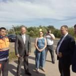 В Старожиловском районе завершили строительство дороги