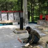 В Путятинском районе ремонтируют обелиск