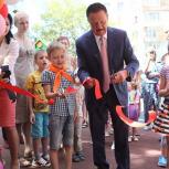Секретарь королёвской «Единой России» открыл новый детский спортивно-игровой комплекс