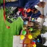 В Елатомском детском доме-интернате обновили детскую площадку