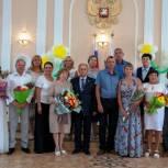 Местные отделения Партии поздравили жителей районов области с Днем семьи, любви и верности