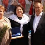 Единороссы поздравили с праздником семейные пары