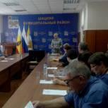 Шацкие партийцы обсудили контроль за ходом исполнения национальных и партийных проектов