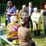 Александр Сидоров обсудил с рязанцами благоустройство дворовых территорий