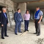 Единороссы Клепиковского района контролируют строительство ФОКа