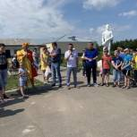 В селе Рыбалово состоялось долгожданное открытие детской площадки