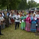 В поселке Гусь-Железный провели «Гусевские забавы»