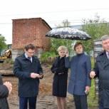 Строительство стадиона в селе Минькино будет завершено в августе