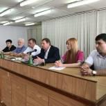 В Железнодорожном округе города Курска состоялись общественные слушания по формированию современной городской среды