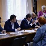 Партийный прием жителей прошел в Щёлково-7