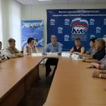 Круглый стол по реализации национальных проектов прошел в Павлово-Посадском отделении Партии