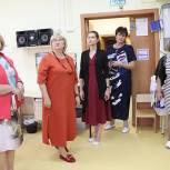 В Павловском Посаде партийцы приняли участие в приемке образовательных учреждений к новому учебному году