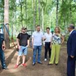 Партийцы проверили детские лагеря «Маяк» и «Хочу стать десантником» в Дальнеконстантиновском районе
