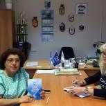 Истринские партийцы обсудили совместные планы с районного отделения Всероссийского общества слепых
