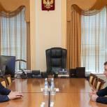 Турчак и Ведерников обсудили реализацию национальных и партийных проектов в Псковской области