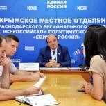 Выездной прием в Крымске провел руководитель региональной общественной приемной Партии Батырбий Тутаришев