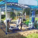 В Гагшоре приступили к строительству тренажерного комплекса на средства президентского гранта