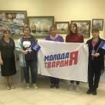 В Дмитровской центральной библиотеке прошла выставка картин «101 год Российскому Флоту»