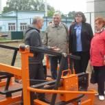 На новой спортплощадке жители Ртищева смогут готовиться к сдаче нормативов ГТО