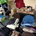 В пунктах приема гумпомощи «Единой России» в Амурской области собрано более тонны вещей