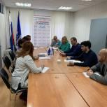 Химкинские сторонники Партии провели встречу с жителями по вопросу разъяснения реализации национальных проектов