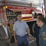 В Корочанском районе с рабочим визитом побывал заместитель председателя Белгородской облдумы Сергей Литвинов