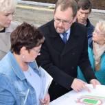 Мурманские партийцы добились учета замечаний граждан с ОВЗ при строительстве межшкольного стадиона