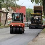 В рамках нацпроекта в Сыктывкаре асфальтируют улицу Орджоникидзе