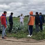 Луховицкий координатор партпроекта «Российское село» рассказал молодежи, как стать фермерами