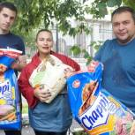 Активисты партии «Единая Россия» провели акцию «Лучший друг», приуроченную к Всемирному дню бездомных животных