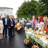 Михаил Кривцов поздравил жителей Спас-Клепиков с юбилеем города