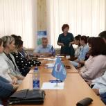 В Лотошино молодогвардейцы обсудили с депутатом Мособлдумы предстоящие выборы