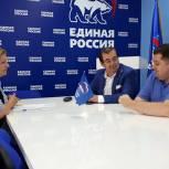 Михаил Диктованный провел мониторинг доступности для людей с инвалидностью в Сергиево-Посадской приемной Партии