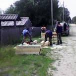 В Койгородском районе обустраивают объекты водоснабжения