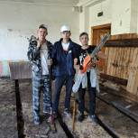 «Молодая Гвардия» помогла жертвам наводнения в Иркутской области