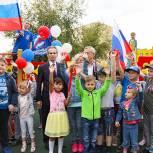 Лыткаринские единороссы открыли две новые детские площадки