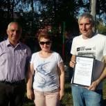 В Шилове и Спасске прошли дворовые праздники