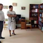 Елена Митина проконтролировала ремонт Некрасовского сельского Дома культуры