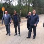 Андрей Красов оценил реализацию местной инициативы в селе Надежка