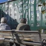 На омсукчанских многоэтажках запечатлеют великие события, вошедшие в историю нашей страны
