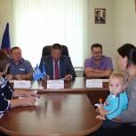 В местной приемной «Единой России» одинокой матери помогли решить вопрос с газоснабжением