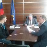 Сергей Есяков провел прием в Региональной общественной приемной Партии