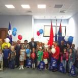 «Единая Россия» в Балашихе провела акцию «Собери ребенка в школу»
