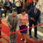В Национальном музее открыта новая выставка «Черзи», посвященная 120-летию родоначальника камнерезнего искусства Тувы