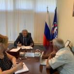 Сиражудин Гамидов провел прием граждан в Приемной «Единой России»