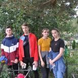 Нарофоминские молодогвардейцы провели акцию по уборке могилы участника Великой Отечественной войны