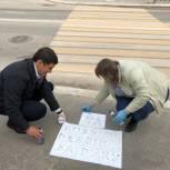 В Тарко-Сале проверили пешеходные переходы