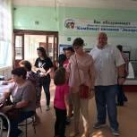 Явка на выборах в Электрогорстке на 12.00 составила 9,17%
